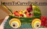 Baby Carriage Fruit Bowl