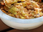 Wild Rice with Artichokes
