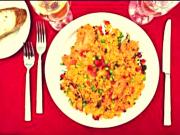 Rice with Chicken & Veggies - Arroz con Pollo