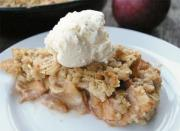Ginger Apple Crisp