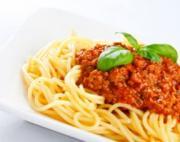 Garlicky Spaghetti Sauce with Sausage