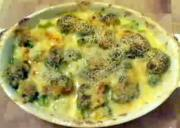 Broccoli And Cheddar Gratin