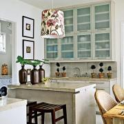 how to design a beach house kitchen
