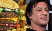 Is Sylvester Stallone  Addicted to Junk Food ?