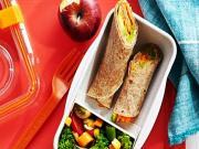 Veggie Tortilla Wraps - Easy School Lunch