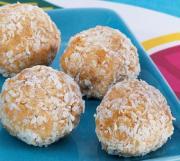 Peanut Coconut Balls