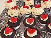 Betty's Whipped White Chocolate Ganache Frosting for Dark Chocolate Cupcakes