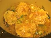 Fricassee Of Chicken