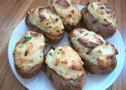 Cheese Stuffed Potatoes