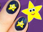 Twinkle Twinkle Little Star Nails