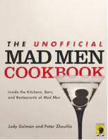 The coverpage of The Unofficial Mad Men Cookbook