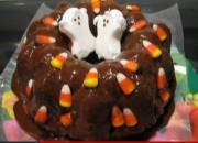 Festive Halloween Bunt Cake