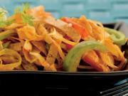 Chapati Masala Noodles (Low Calorie Snack)