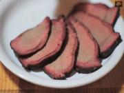 Bison Sirloin Tip Roast with the Smokenator