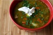 SPLIT PEA SOUP WITH A TOUCH OF CURRY