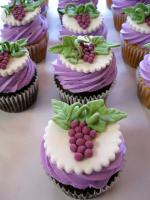 Grape Cupcake Ideas