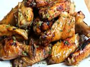 Tangy Baked Chicken Wings