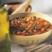 Spanish Pumpkin and Bean Soup