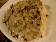 Medallions of Pork in Mushroom Cream Sauce