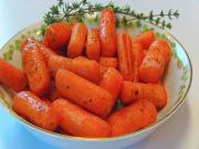 Betty's Roasted Carrots -- Thanksgiving