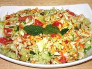 Cabbage Chana Dal Salad