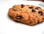 Raisin Sour Cream Cookies