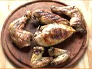 Skinless Grilled Chicken Quarters