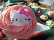 Hello Kitty Cupcake - Hello kitty flavored food