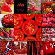 Red foods for Romantic Valentine's Day
