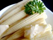 Buttered Baby Sweetcorn