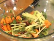 Toasted Pecan Salad With Fuyu Persimmon