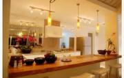 A modern open kitchen