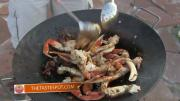 Dungeness Crab Legs on the Southwest Disk