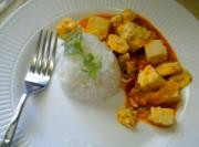 Solar Cooked Red Tofu Curry