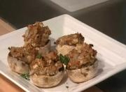 Baked and Stuffed Mushrooms