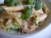 Creamy Healthy Penne Pasta