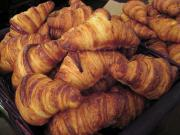 French Pastry - Yummy batch of tempting croissants