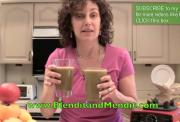 Blended Zucchini and Apple Juice