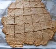 Gluten-Free Sesame Crackers