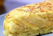 Delicious spanish omelette