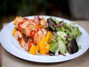 Lime & Coriander Salmon Kebabs | Bank Holiday BBQs | Schwartz Cooking Club