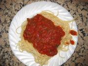Spicy Sausage with Pasta