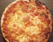 Cheese And Sausage Pizza