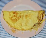 Chived Cheese Omelette