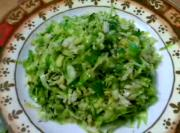 Stir Fried Crunchy Brussel Sprout