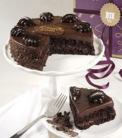 An excellent special ocassion dessert idea includes this chocolate mousse Torte