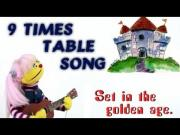 9 Times Table Song