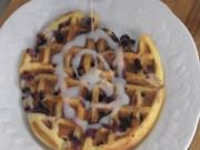 How to make Blueberry Lemon Waffles