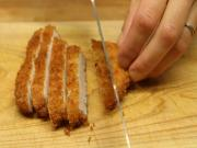 How to Slice Katsu for Sushi Rolls