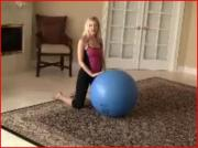 Abs Exercises Workout Using Stability Ball